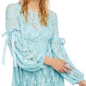 Free People Ruby Crochet Mini Dress Size Medium